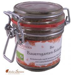 Bio Bauerngarten-Kräutersalz, Drahtbügelglas 50g