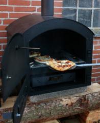 Brennholz basierende Pizzaofen