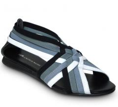 Schuh United Nude Elastic Tangle low-grey Mix