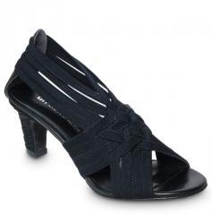 Schuh United Nude Elastic Tangle Mid-black