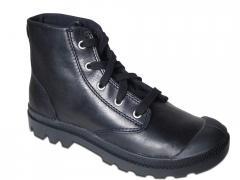 Schuh Hi Leather Women-black