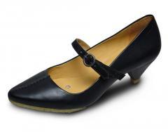 Schuh Rufion Still black leather
