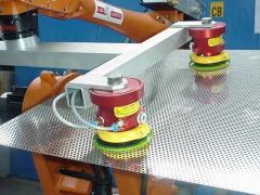 Handhabung von Blechen - Magvacu® Kombigreifer