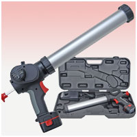 Guns, hand-operated, for the extrusion of mastics