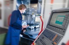 CNC Fräsen komplexer Teile
