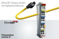 EtherCAT (Ethernet for Control Automation