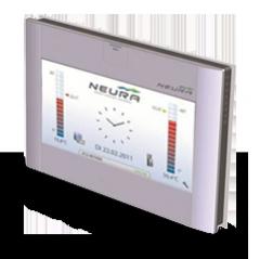 NTouch - Raumbediengerät von NEURA