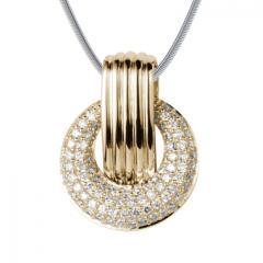 Halskette mit Diamant Charlie