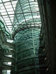 Transparenter Brandschutzglas E30