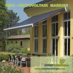 Photovoltaik - Markisen