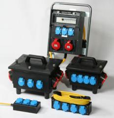 Mobile Verteiler zur Energieversorgung am