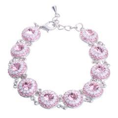 "Armband ""Orient"", rose / rose"