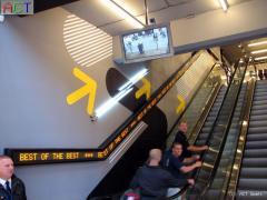Einzeilige LED Laufschriften für den Innenbereich