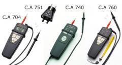 Spannungsprüfer C.A 704 / C.A 740 / C.A 760 / C.A
