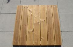 Terrassen / Holzfliesen