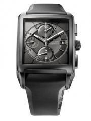 Uhren Pontos Rectangulaire Chronographe Full Black