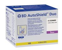 BD AutoShield Duo Sicherheits-Pen-Nadel 30G, 0,30x5mm