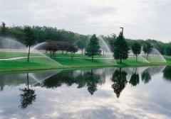 Bewässerungsanlagen für den Sportplatz