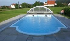 Polyesterschwimmbecken