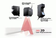 Laser-Wegmessungsensoren Modellreihe LJ-G