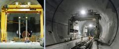 Tunnelbau Sonderkrane