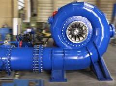 Global Hydro Energy Francis-Turbinen