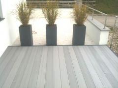 Terrassen:WPC (Wood-Plastic-Composite)