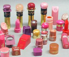 Lippenstift-testattrappen