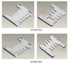 Chip-Karten Kontaktiereinheiten