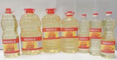 Refined deodorized winterized sunflower oil 1L