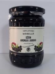 Джем Яблочный с черноплодной рябиной арония (100%