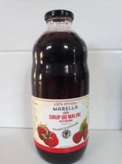 Xarope de fruta framboesa (100% natural)