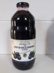 Jarabe de Arándano 100% natural en botellas de