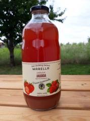 Μήλου - Φράουλα - Χυμός, 100% φυσικό, χωρίς