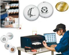 Golfbälle mit Logo
