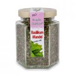 Bio Kräutergewürz Basilikum Mandel 50g