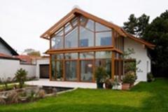 Holz/Aluminium Wintergarten