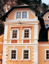 Fassadengestaltung mit Austrotherm