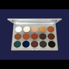 Kosmetik Kryolan Professional Eye Shadow Set 15