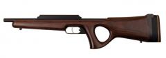 Einzelschußwaffe mit einer Lauflänge von 66 cm bei einer Gesamtlänge von 70 cm.