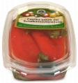 Paprika gefüllt mit Schafkäse