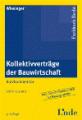 Buch Kollektivverträge der Bauwirtschaft
