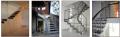 Treppen und Stiegen Kombination: Holz-Metall-Glas