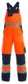 Latzhose EN471 Orange/Marine