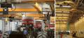 Leichtkransysteme und Einschienenbahnen aus Stahl