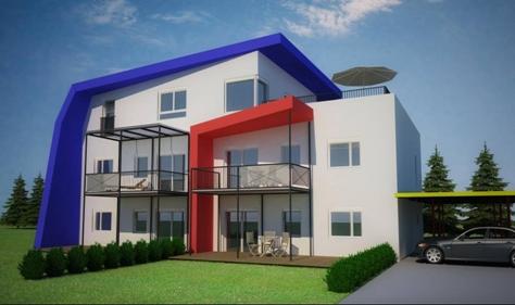 Auftrag Planung einer Wohnhausanlage