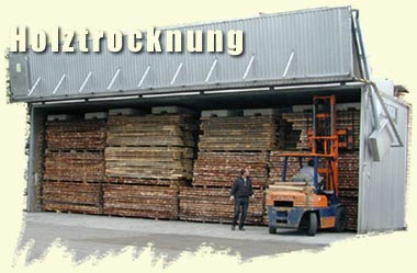 Auftrag Holztrocknung