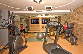 Auftrag Fitnessraum