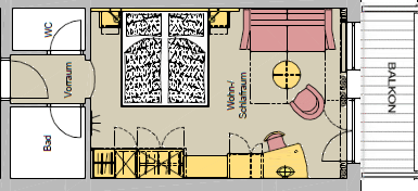 Auftrag Mehrbettzimmer