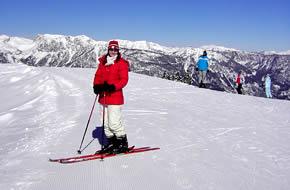 Auftrag Ski fahren
